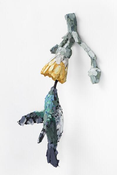 Vesa-Pekka Rannikko, 'Pollination (Firecrown and Cabbage tree)', 2021