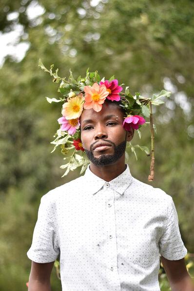 Nomusa Mtshali, 'Intshebe Yami Ubulili Bami (My Beard is My Gender) I', 2019