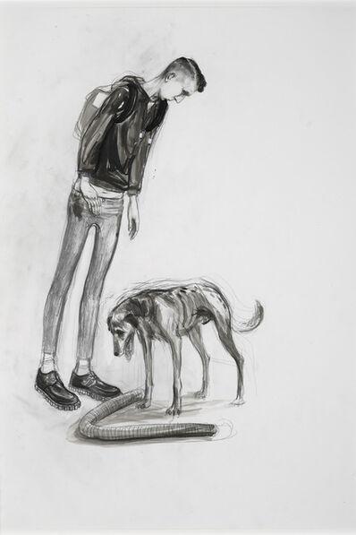 Charles Avery, 'Untitled (Youth Encountering dog)', 2011