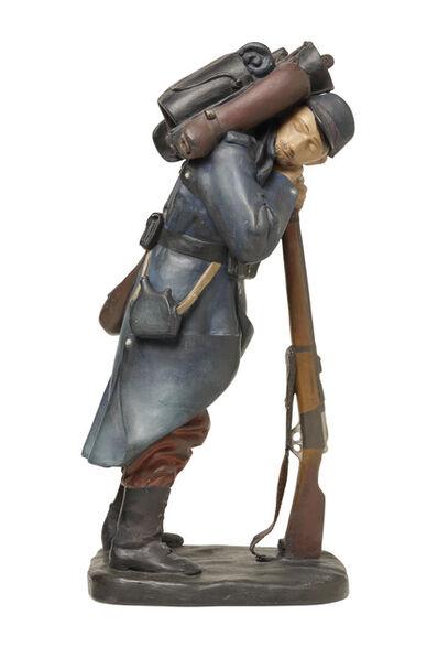 Otto Gutfreund, 'Soldier from platoon Nazdar', 1924 – 1925