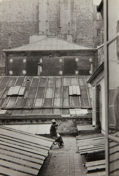 Henri Cartier-Bresson, 'Hotel court, rue de la Boétie, Paris', 1953
