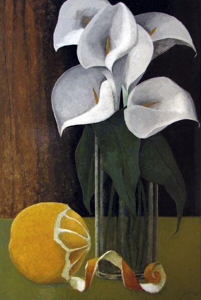 Pierre Lefebvre, 'Orange et arums', 2020