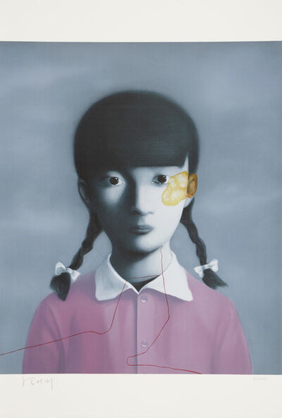 Zhang Xiaogang, 'Girl in Purple', 2009
