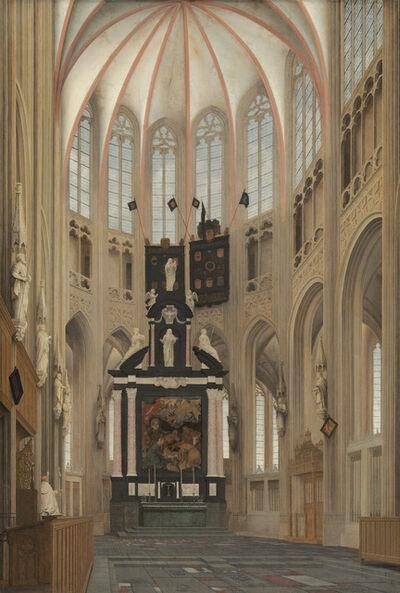 Pieter Jansz. Saenredam, 'Cathedral of Saint John at 's-Hertogenbosch', 1646