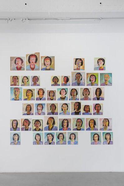 Carin Ellberg, 'Självporträtt / Self portraits', 1985-1986