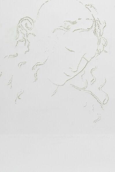 Stefano Arienti, 'Testa di fanciulla (Leonardo da Vinci)', 2013