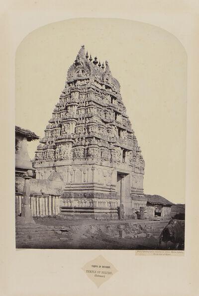 Henry Dixon, 'Views in Mysore: Temple of Belaru (Entrance)', 1862-1865
