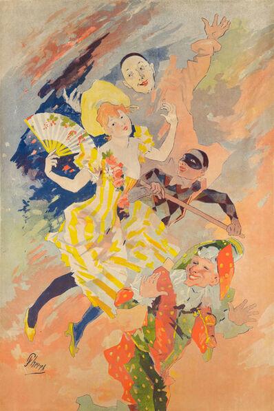 Jules Chéret, 'LA PANTOMIME', ca. 1891