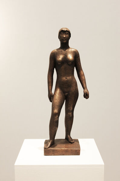 Anton Hiller, 'Weibliche Figur', 1940