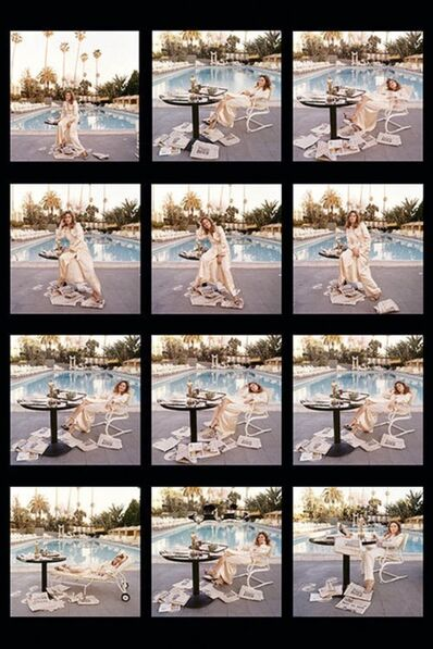 Terry O'Neill, 'Faye Dunaway Contact Sheet 1977', 1977