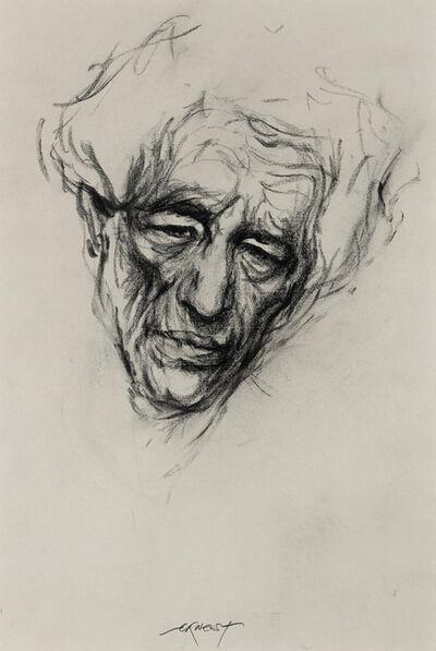 Ernest Pignon-Ernest, 'Etude pour Giacometti ', 2001