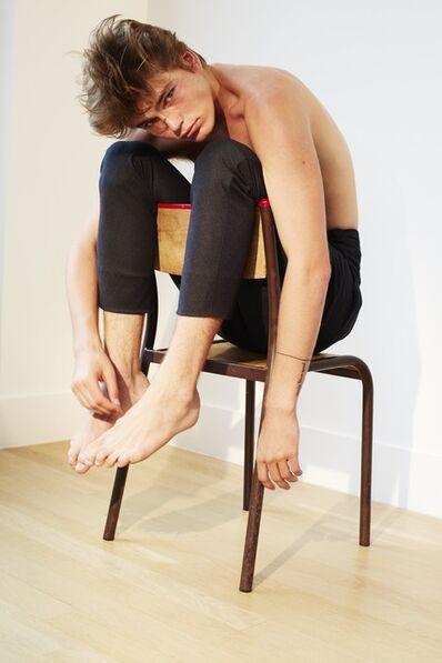 Collier Schorr, 'The Painted Chair (Jordan)', 2015