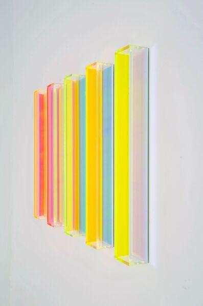 Regine Schumann, 'color rainbow miami vertical 1/2', 2017
