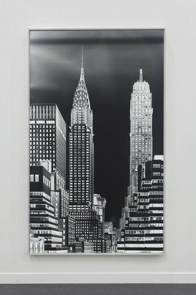 Vera Lutter, 'Chrysler Building, XIII: June 29, 2016', 2016