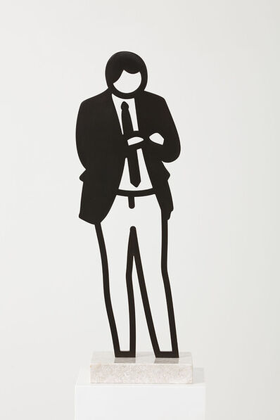 Julian Opie, 'Blazer (from Boston Statuettes)', 2020