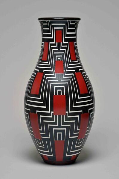 Sèvres Porcelain Manufactory, 'Decoeur 11 Vase (decor of Eric Bagge 170-33 01-2)', 1933
