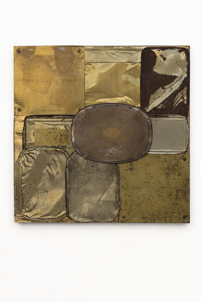 Flavio Favelli, 'Oro Metal', 2019