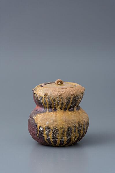 Ken Matsuzaki, 'Water container, yohen natural ash glaze'