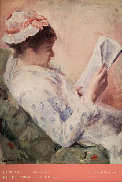 Mary Cassatt, 'Faces of Impressionism, Portraits from American Collections, The Cleveland Museum of Art', unknown