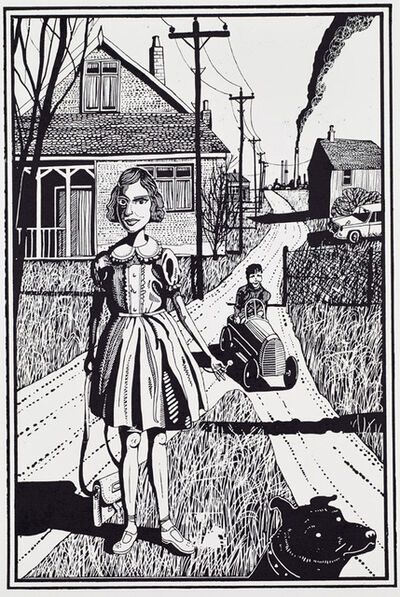 Grayson Perry, 'Six Snapshots of Julie (Black and White) (Full Series)', 2015