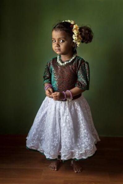 Cristina Garcia Rodero, 'NISSI. RACHEL. BATHALAPALL. INDIA', 2015