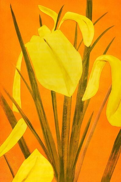 Alex Katz, 'Yellow Flags 4', ca. 2020