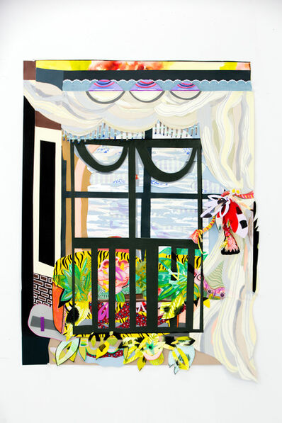 Amy Boone-McCreesh, 'Garden View With Upholstered Window Seat', 2019