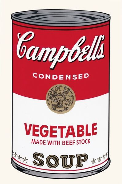 Andy Warhol, 'Campbell's Soup I: Vegetable', 1968