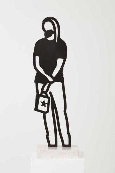 Julian Opie, 'Long Hair, from: Boston Statuettes', 2020
