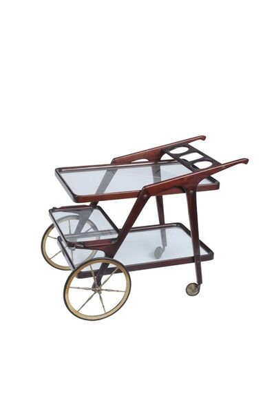 Cesare Lacca, 'A bar trolley with tray', 1950 ca.
