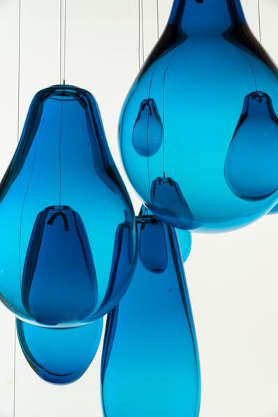 Marcela Cabutti, 'Turquoise shaped rain', 2019