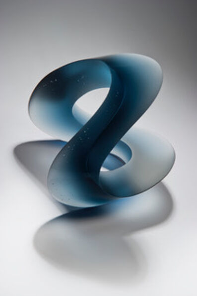 Heike Brachlow, 'Vertex Blue Grey', 2019