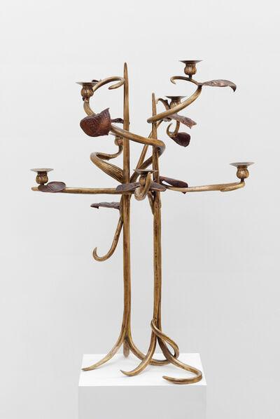"""Claude Lalanne, 'Candelabre dit """"Structure vegetale""""', 1999"""