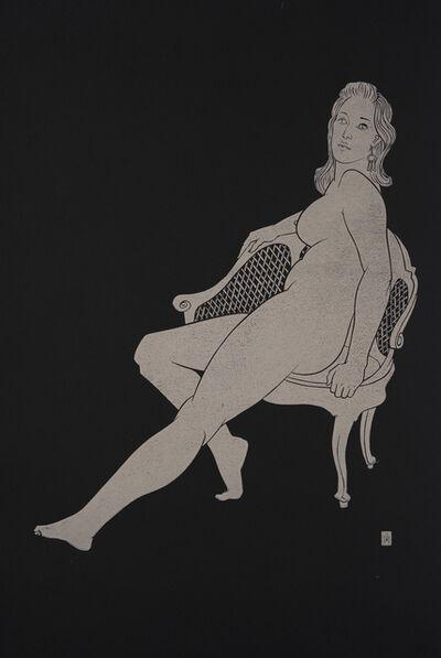 Martyn Tverdun, 'Sitting on the Old Chair', 2018