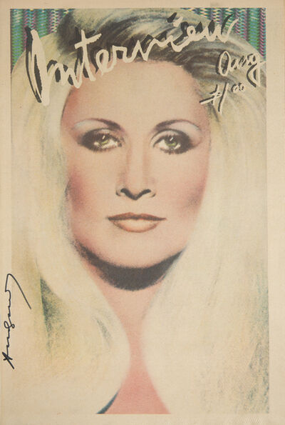 Andy Warhol, 'Andy Warhol Signed Interview Magazine'