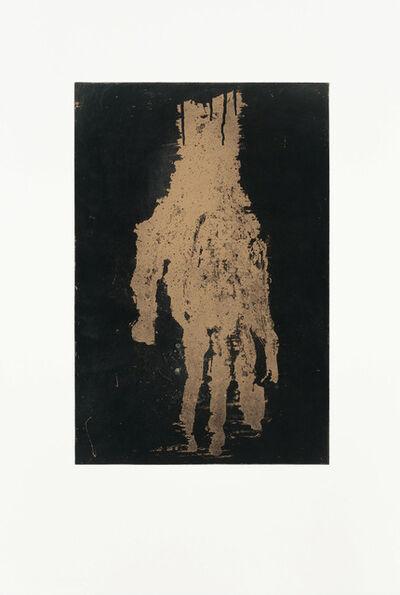 Georg Baselitz, 'Mano I (Gold)', 2019