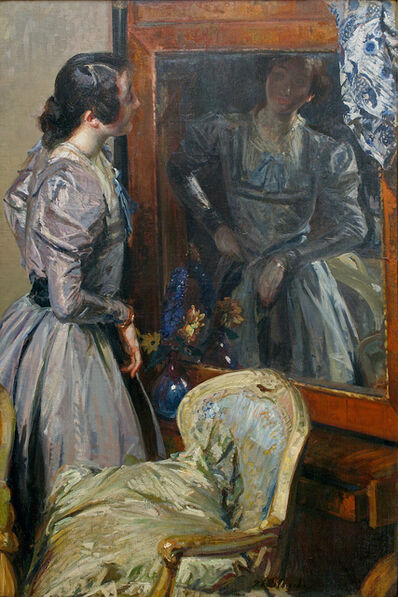 Jacques-Émile Blanche, 'In the Mirror (Désirée Manfred or Bérénice)', 1904