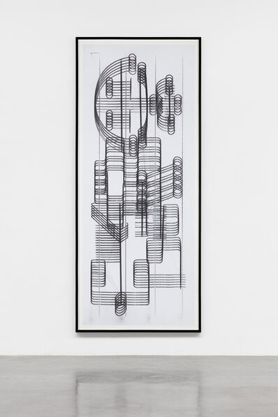 Carlos Amorales, 'Fax Mantra (protective seals) 05', 2012