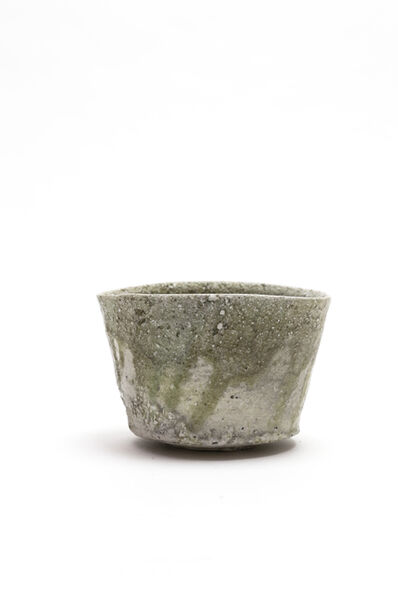 Yui Tsujimura, 'Natural ash glaze cylinder shaped tea bowl', 2018