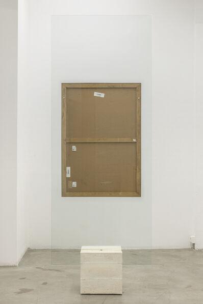 Enric Farrés Duran, 'Peça prestada -Res és meu-', 2017