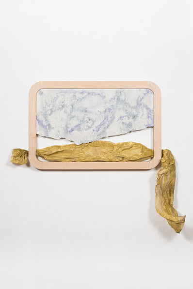 Rachel Mica Weiss, 'Pane with Brass Valance', 2016