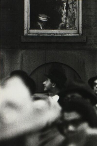 Saul Leiter, 'MacArthur Parade', 1951