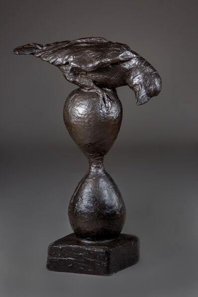 Giuseppe Palumbo, 'Raven of Time (Concrete) op/ed', 2019