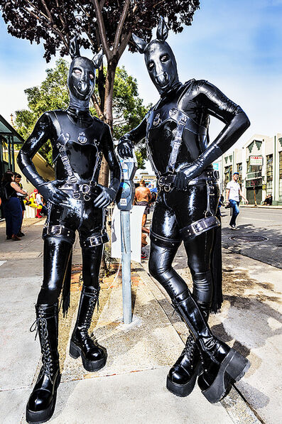 Mitchell Funk, 'San Francisco , Folsom Street Fair.   BDSM  Leather Event #3', 2015