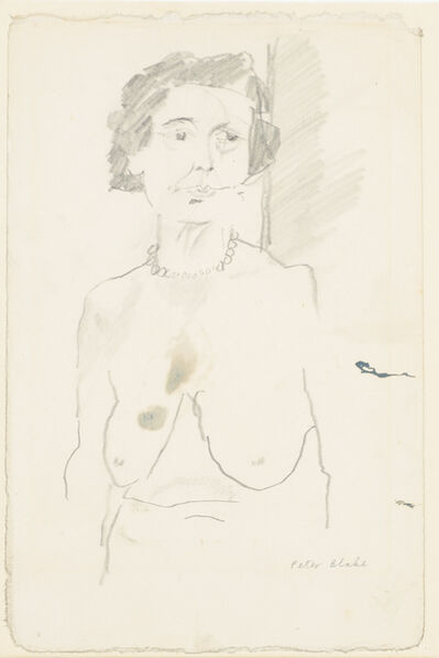 Peter Blake, 'Nude Torso of Old Lady', 1961
