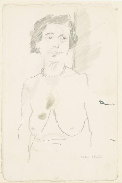 Peter Blake, 'Nude Torso of Old Lady', 1961