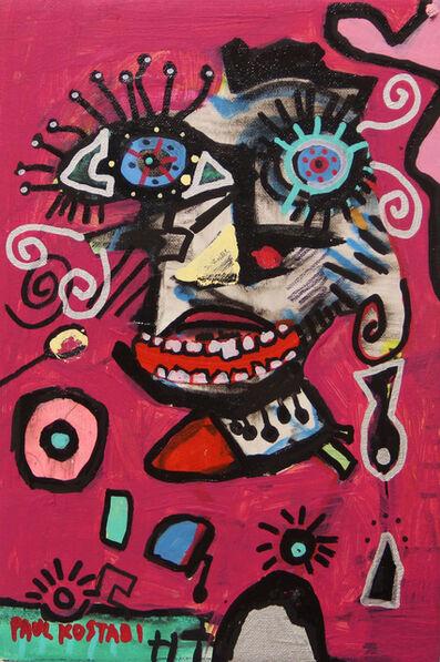Paul Kostabi, 'Minimalist Sungazer', 2019