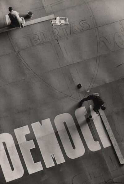 Riccardo Moncalvo, 'Campagna Elettorale', 1948