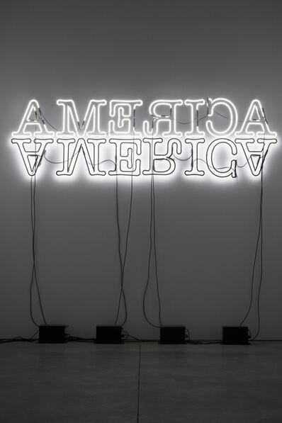 Glenn Ligon, 'Double America', 2012