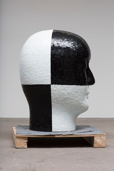 Jun Kaneko, 'Untitled Head Form 1', 2015